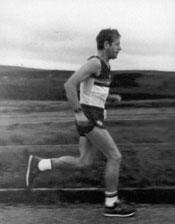Ken running from John o Groats to Lands End
